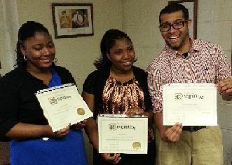 1st HJB Scholarship Recipients